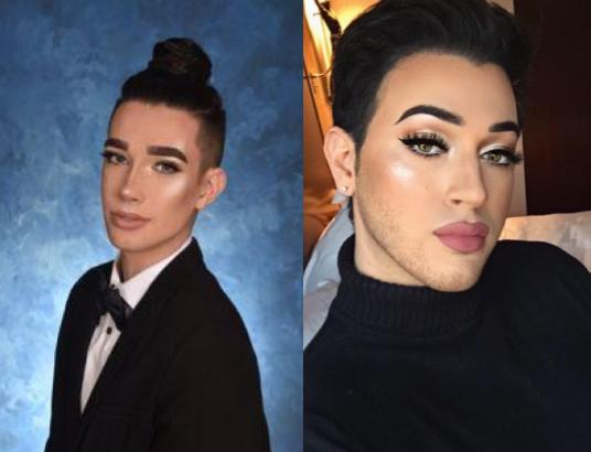 For The First Time Ever A Male Make Up Artist Named James Charles In Left Picture Was Featured On Cover Of Popular Magazine Girl
